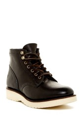 Frye Freeman Mid Lace Boot Black