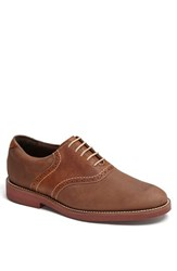 Neil M Men's 'Stanford' Saddle Shoe Sandalwood Worn Saddle