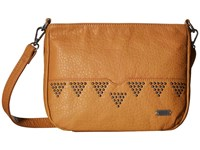 Roxy Funky Town Camel Cross Body Handbags Tan