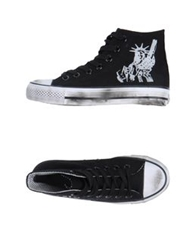 2Star High Top Sneakers Black