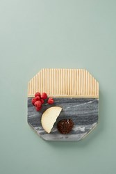 Anthropologie Karala Cheese Board Grey