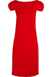 Antonio Berardi Stretch Cady Dress Red
