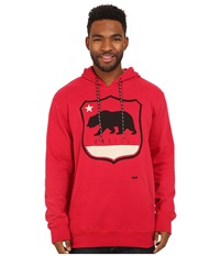 O'neill Insignia Pullover Chili Pepper Men's Long Sleeve Pullover Red