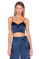 House Of Harlow X Revolve Bailey V Neck Bralette Navy
