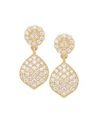 Jamie Wolf Tiny Pave Acorn Earrings With Diamonds Gold