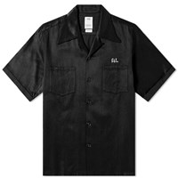 Visvim Short Sleeve Irving Shirt Black