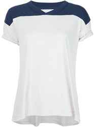 The Great V Neck T Shirt White