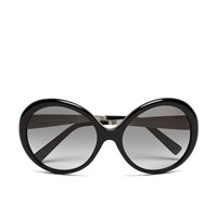 Michael Michael Kors Women's Willa Large Round Sunglasses Black