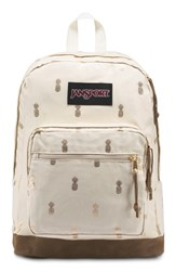 Jansport Right Pack Expressions Backpack Beige Isabella Pineapple