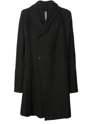 Poeme Bohemien Poeme Bohemien Oversized Hooded Coat Black