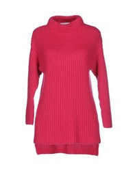 Blugirl Blumarine Knitwear Turtlenecks Women Fuchsia