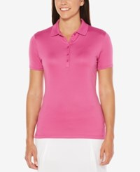 Callaway Opti Dri Golf Polo Purple Orchid