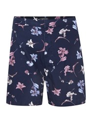 Linea Limited Edition Printed Swim Shorts Navy