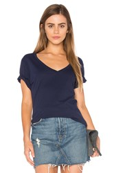 Lamade Staple V Neck Tee Navy