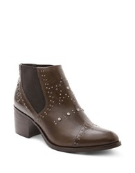 Andre Assous Frankie Studded Chelsea Boots Brown