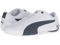 Puma Bmw Drift Cat 5 White Team Blue Men's Shoes