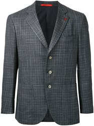 Isaia Sailor Blazer Grey