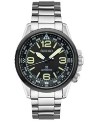Seiko Men's Prospex Automatic Stainless Steel Bracelet Watch 42Mm Srpa71 Silver