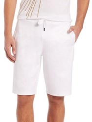 Versace Drawstring Shorts White
