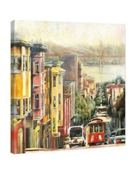 Marmont Hill Down To The Bay Painting Print On Wrapped Canvas Multi