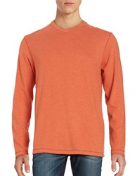 Tommy Bahama Sedona Sands V Neck Sweater Orange