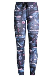 Roxy Stay On Tights Anthracite Blur Multicoloured
