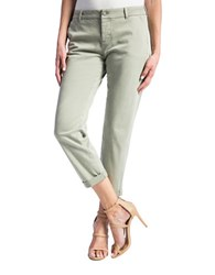 Liverpool Jeans Billy Rolled Cuff Trousers Shadow Grey