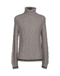 Galliano Turtlenecks Light Grey