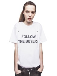 Anna K Follow The Buyers Cotton T Shirt
