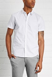 Forever 21 Slim Fit Geo Print Shirt