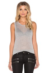 Beautiful People Muscle Tank Gray