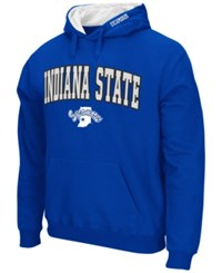 Colosseum Men's Indiana State Sycamores Arch Logo Hoodie Royalblue