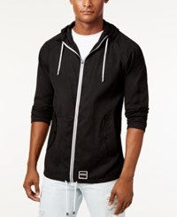 Ezekiel Men's International Zip Up Jacket Black