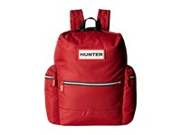 Hunter Original Top Clip Nylon Backpack Military Red Backpack Bags Tan