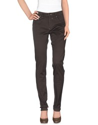 Heaven Two Casual Pants Dark Brown