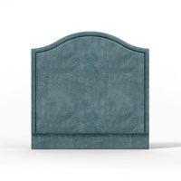 Luxdeco Camelback Headboard Airforce