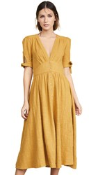 Free People Love Of My Life Dress Golden