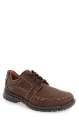 Ecco Men's 'Fusion Ii' Apron Toe Derby Brown Leather