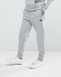 Penfield Hopedale Logo Tapered Cuffed Joggers In Grey Marl Grey Marl