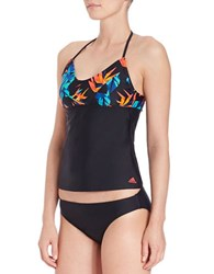 Adidas Beach Paradise Tankini Top Multi Colored
