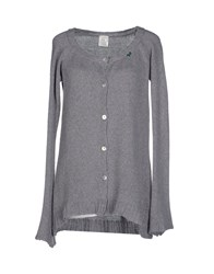 Daniele Fiesoli Knitwear Cardigans Women Light Grey