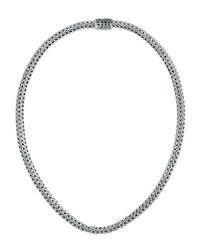 John Hardy Batu Classic Chain Extra Small Sterling Silver Necklace 16