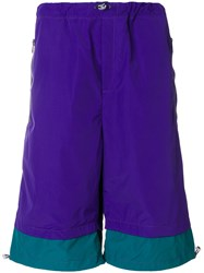 Lc23 Two Tone Shorts Pink And Purple