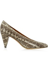 Isabel Marant Pawson Elaphe Pumps Animal Print