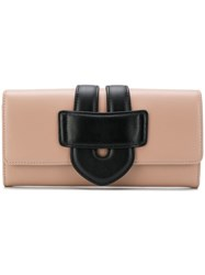 Tila March Zelig Continental Wallet Pink And Purple