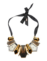 Hoss Intropia Necklaces Black