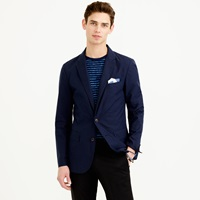 J.Crew Ludlow Sportcoat In Lightweight Microgrid Cotton