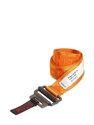 Heron Preston Nylon Webbing Belt Orange