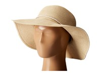 Hat Attack Fine Braid Sunhat With Tubular Cord Trim Natural White Traditional Hats Beige