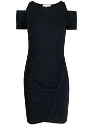 Patrizia Pepe Cutout Shoulder Jersey Dress 60
